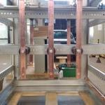 Montagem de cabines primárias